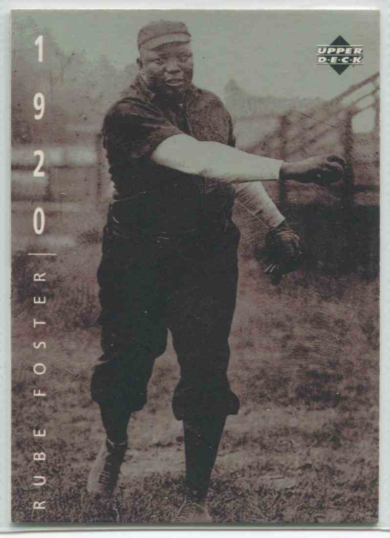 1994 Upper Deck The American Epic Rube Foster 31 On