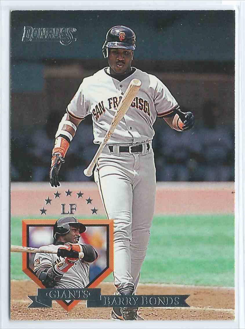 1995 Donruss Barry Bonds 8 On Kronozio