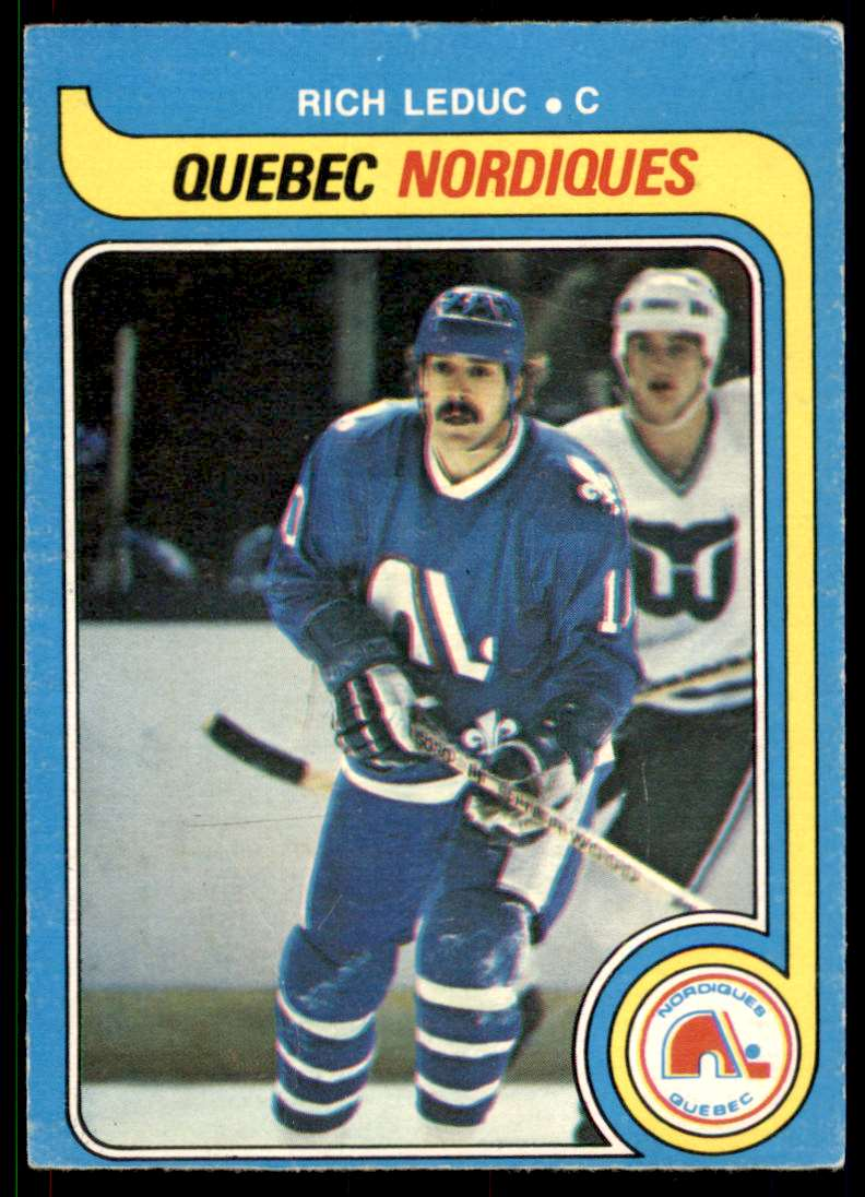 1979-80 O-Pee-Chee Rich Leduc #283 card front image