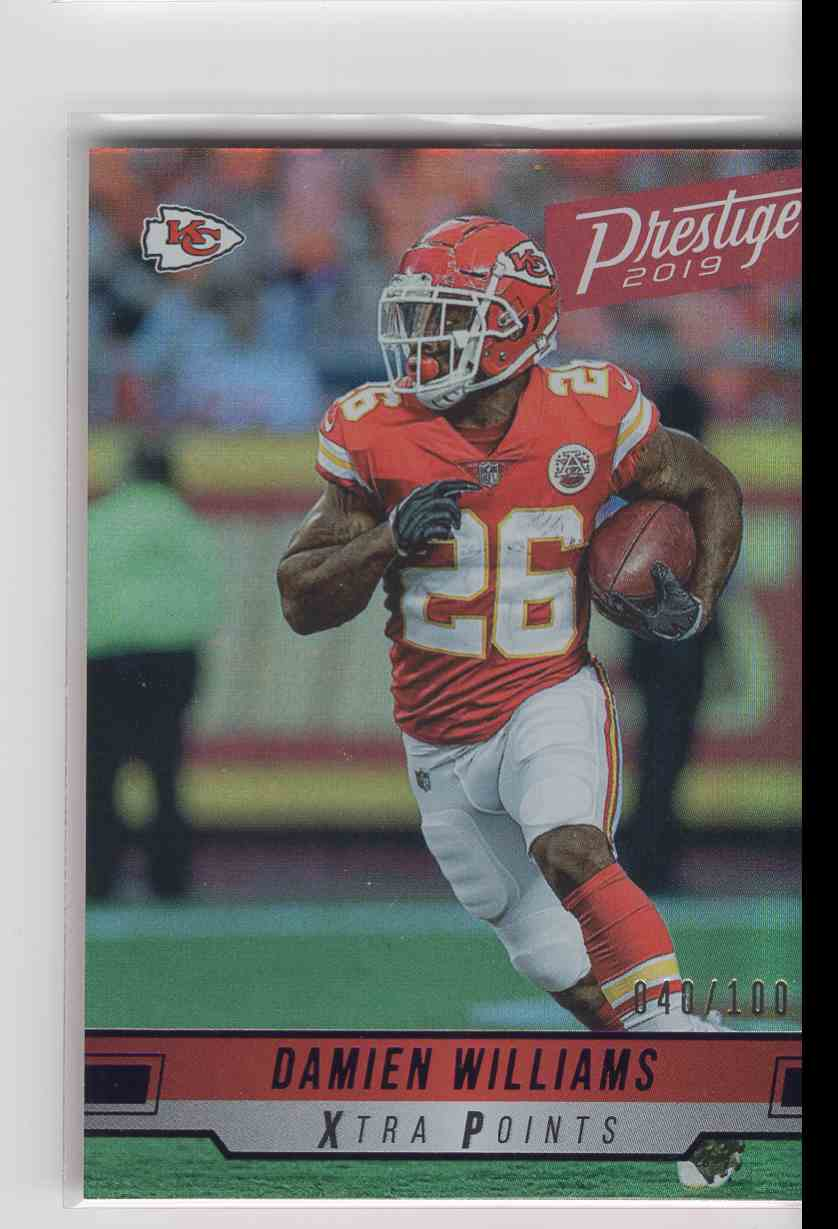 2019 Panini Prestige Xtra Points Damien WIlliams #45 card front image