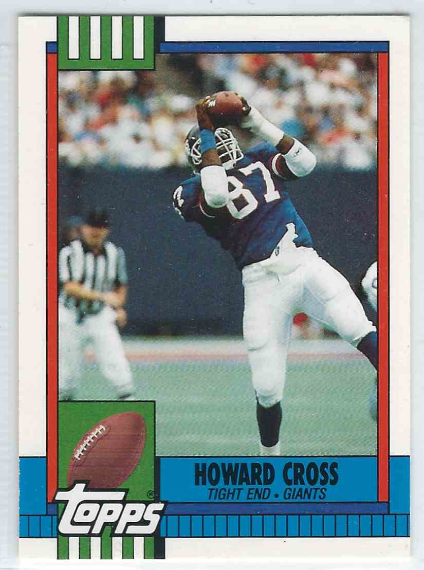 1990 Topps Traded Howard Cross #102T card front image