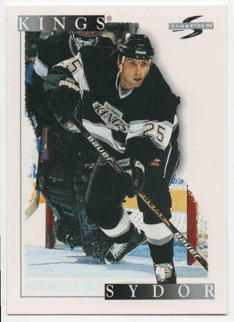 1995-96 Score Darryl Sydor #26 card front image