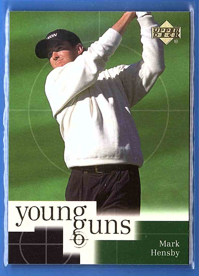 2001 Upper Deck Mark Hensby Yg RC #78 card front image