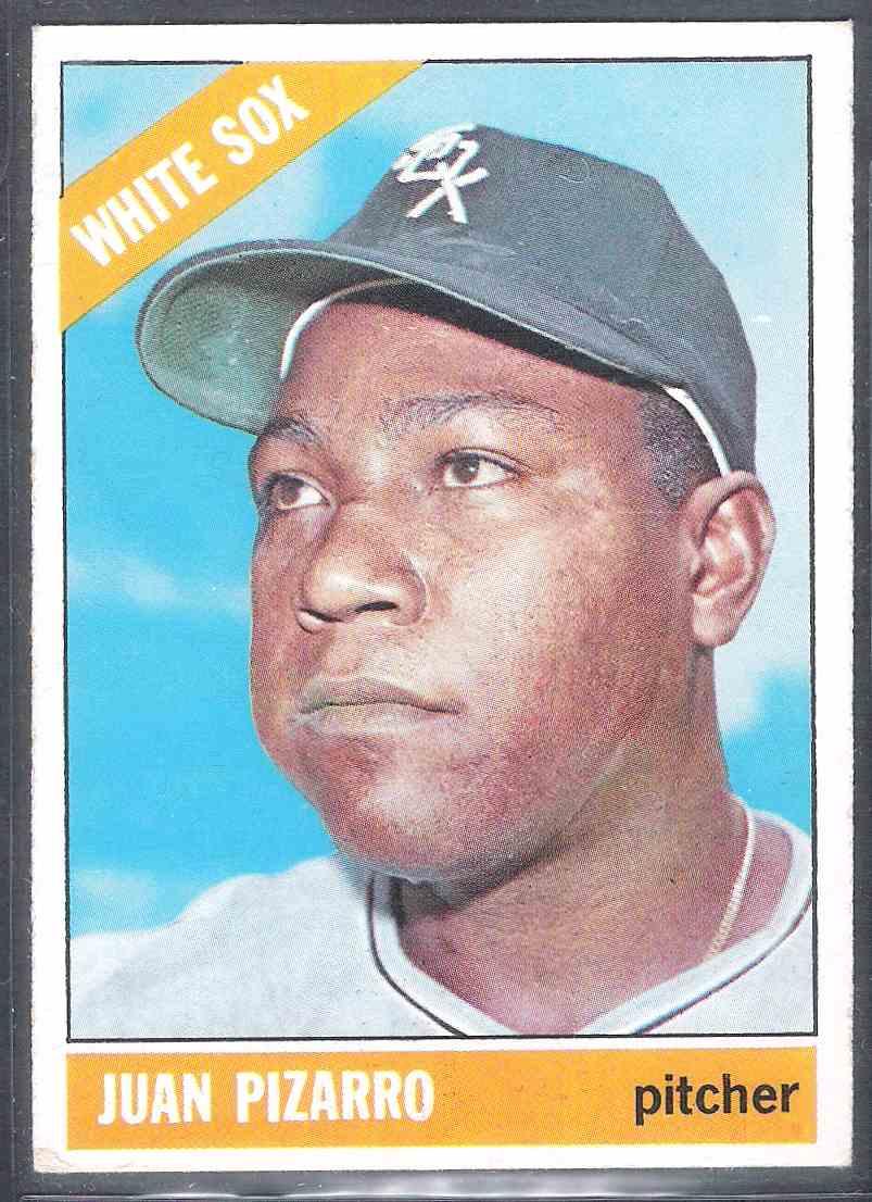 1966 Topps Juan Pizarro #335 card front image