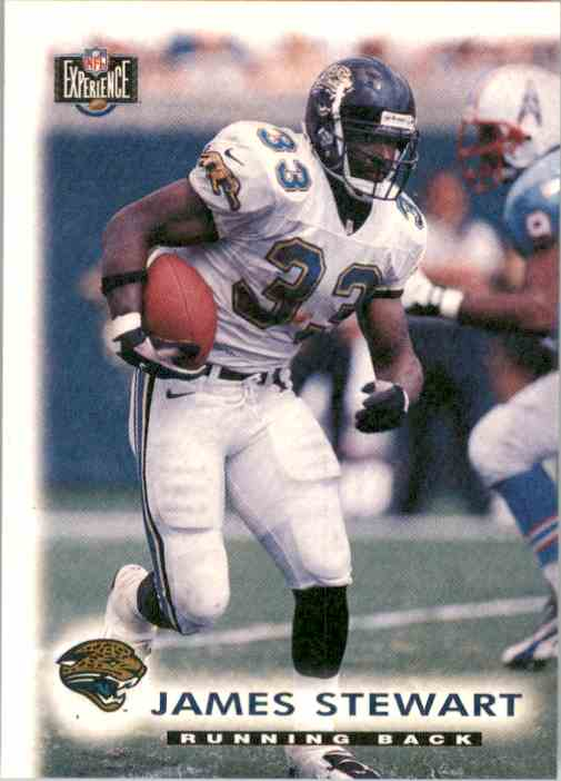 1997 Score Board NFL Experience James O.Stewart #89 card front image