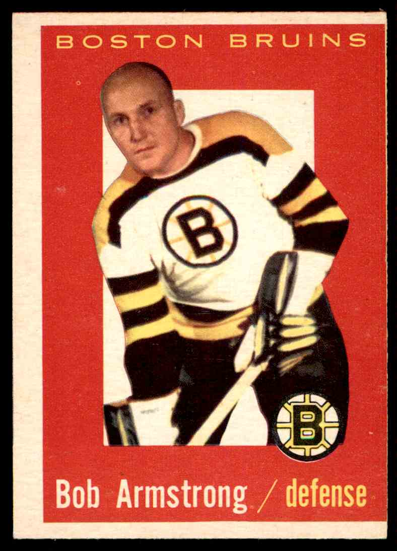 1959-60 Topps Bob Armstrong (B) #39 card front image