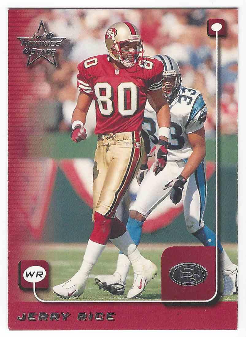1999 Leaf Rookies And Stars Jerry Rice 165 On Kronozio