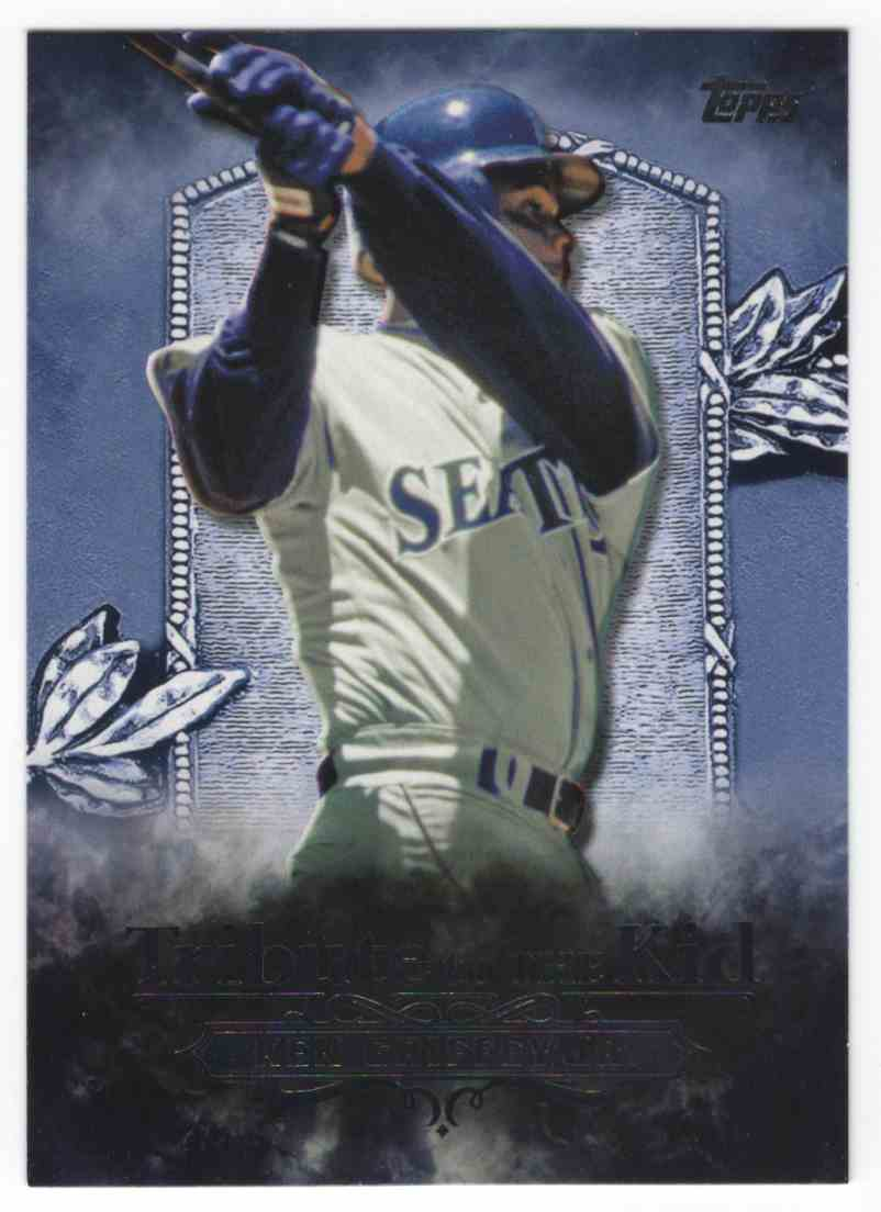 2016 Topps Tribute To The Kid Ken Griffey JR. #KID6 card front image