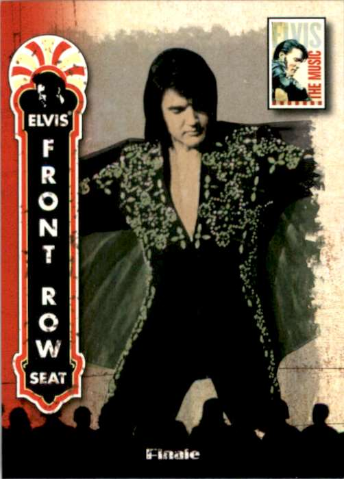 2007 Elvis The Music Finale #80 card front image