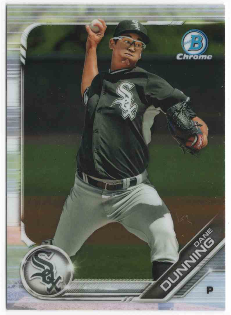 2019 Bowman Chrome Prospects Dane Dunning #BCP94 card front image