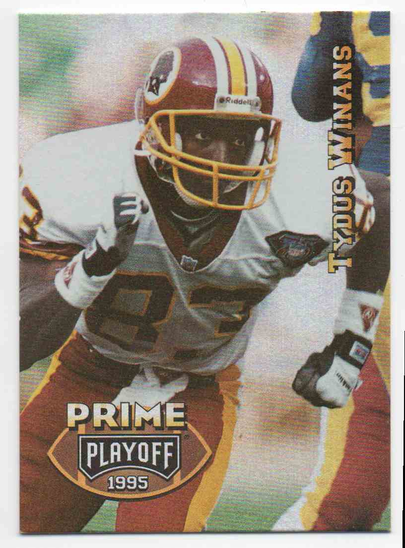 1995 Playoff Prime Tydus Winans #159 card front image