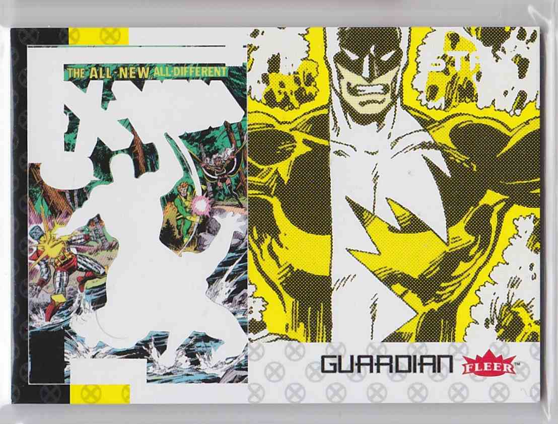 2018 Fleer Ultra X-Men Stax Bottom Layer Gaurdian #19C card front image