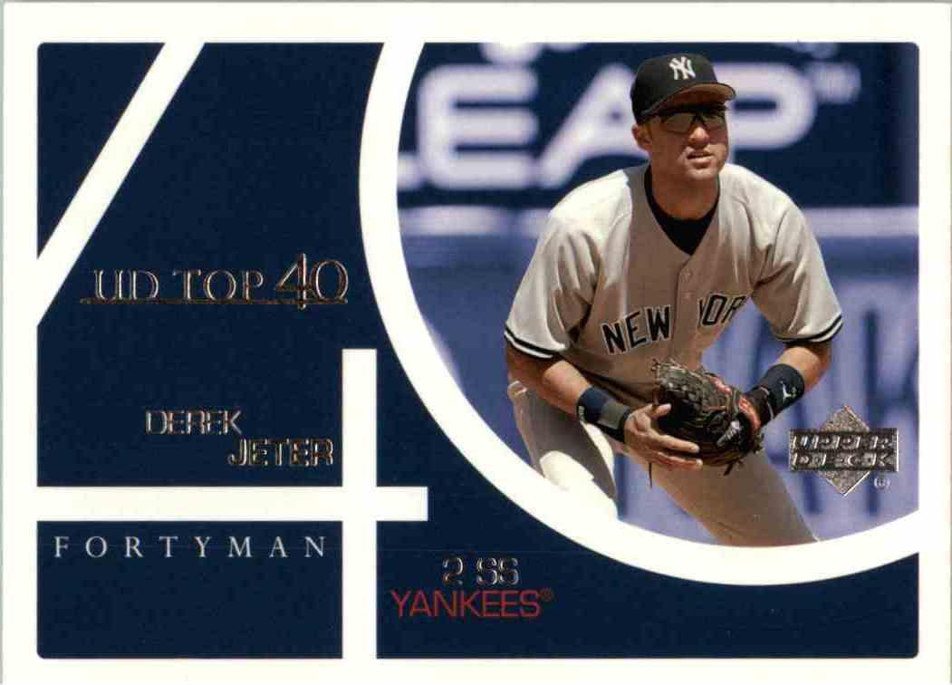 2003 Upper Deck Derek Jeter #848 card front image