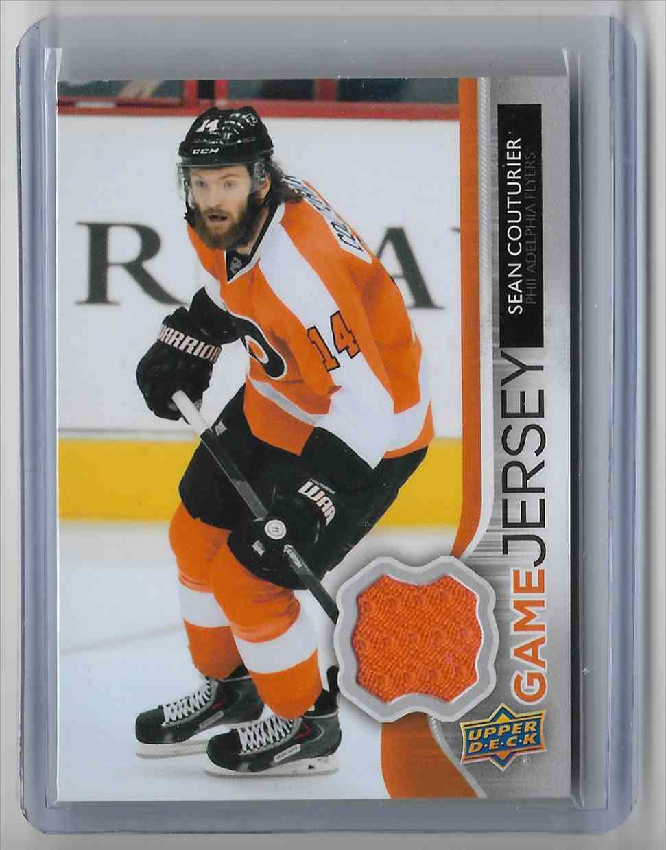 2014-15 Upper Deck Sean Couturier #GJ-CO card front image