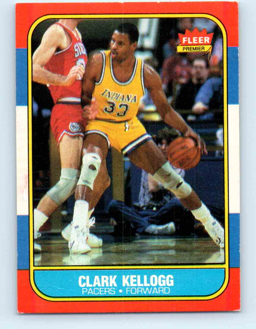 3 Clark Kellogg trading cards for sale