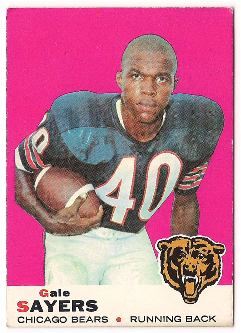 1969 Topps Gale Sayers #51 card front image