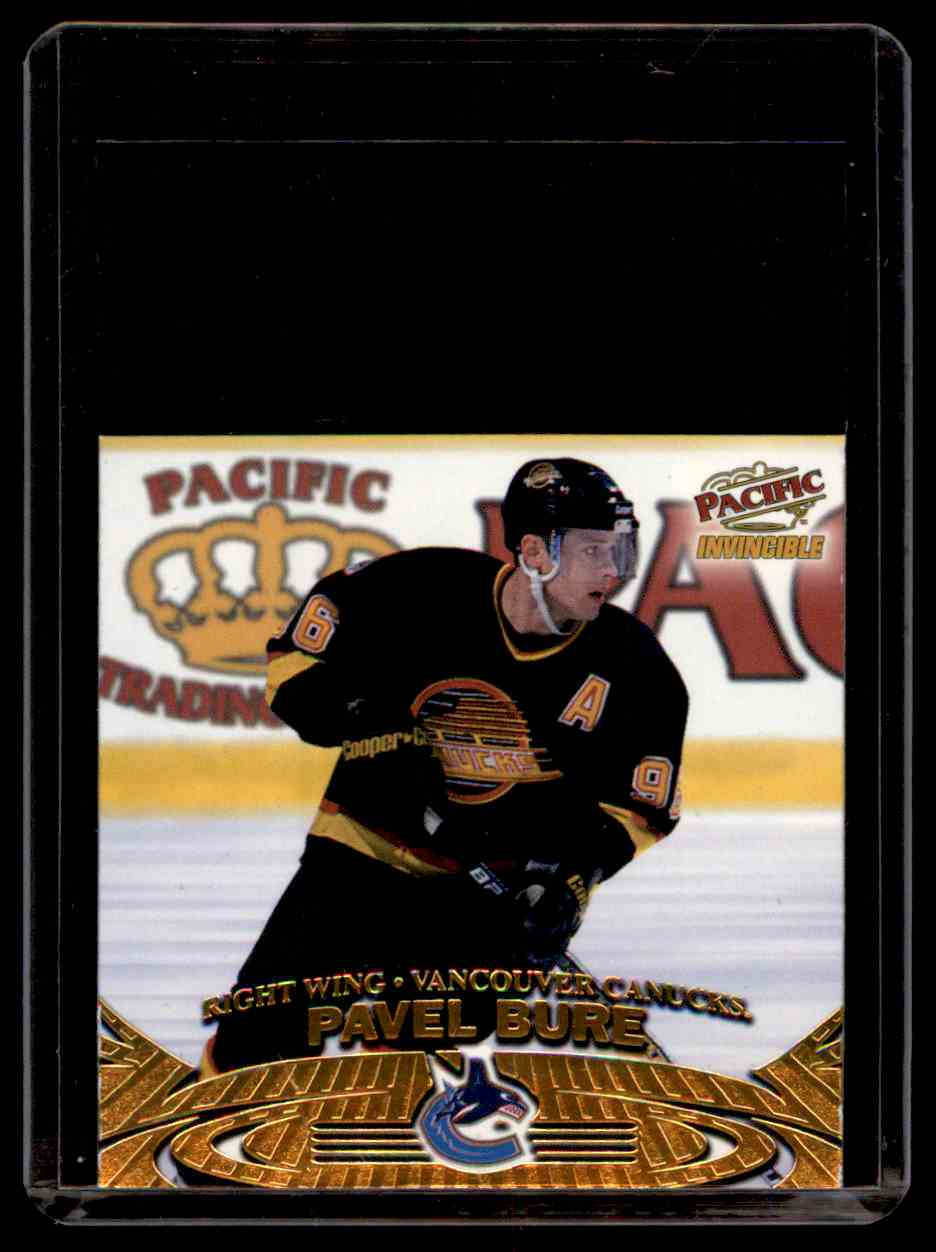 1997-98 Pacific Invincible Off The Glass Pavel Bure #20 card front image