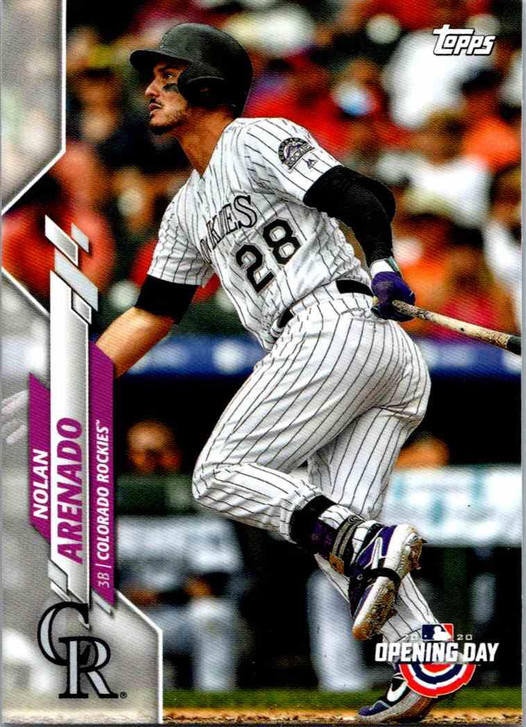 2020 Topps Opening Day Nolan Arenado #38 card front image