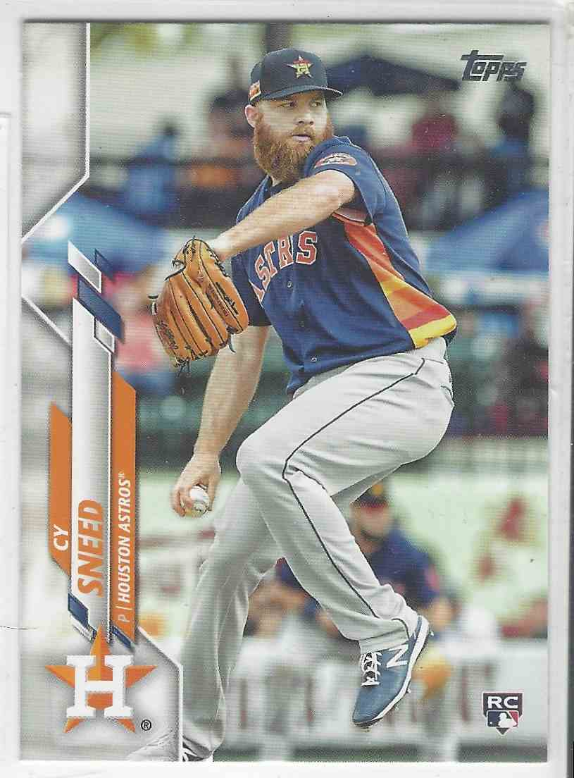 2020 Topps Update Cy Sneed #U-224 card front image