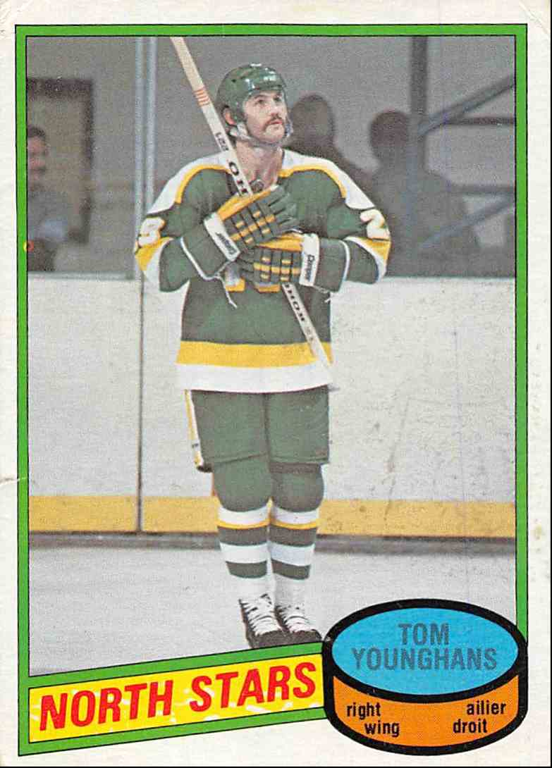 1980-81 O-Pee-Chee Tom Younghans #343 card front image