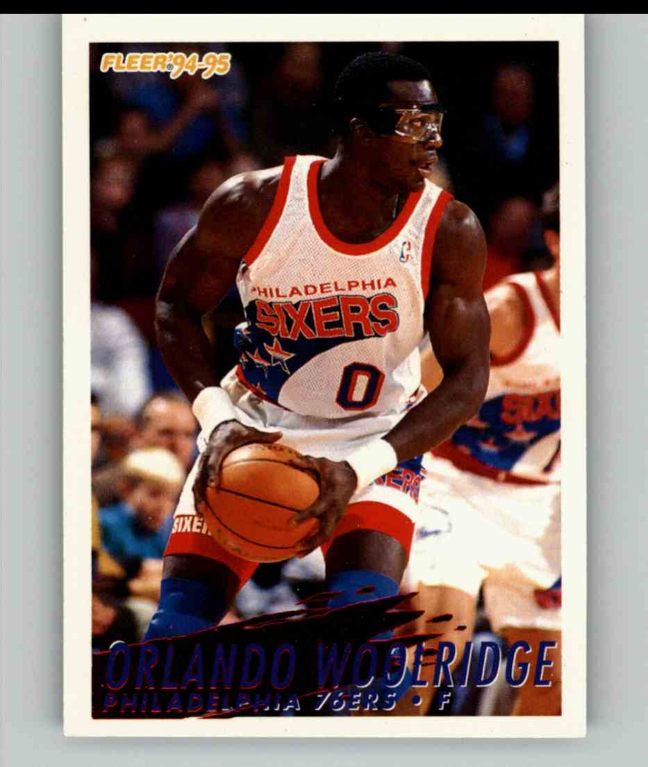 1994-95 Fleer Orlando Woolridge #173 card front image