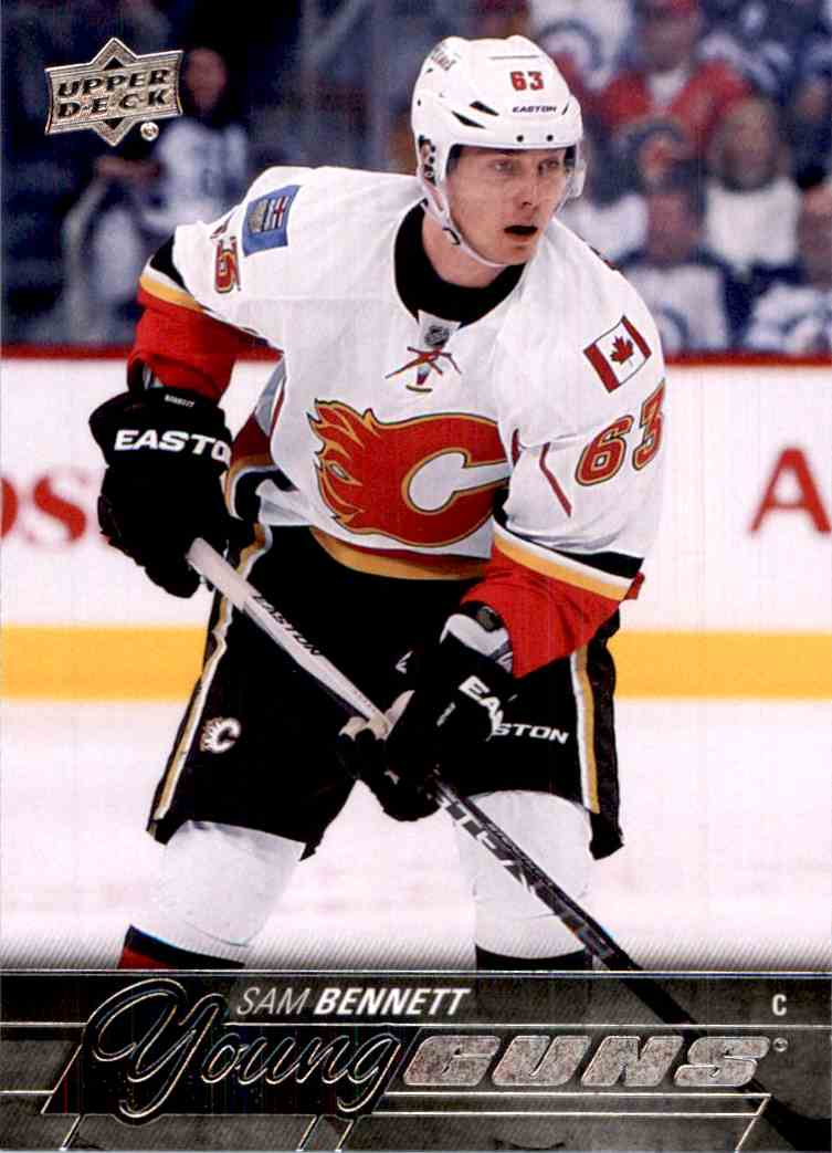 2015-16 Upper Deck Sam Bennett #231 card front image