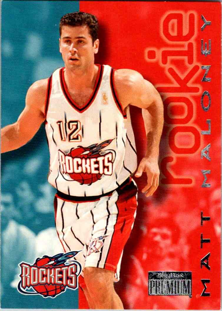 1997-98 Skybox Premium Matt Maloney #221 card front image