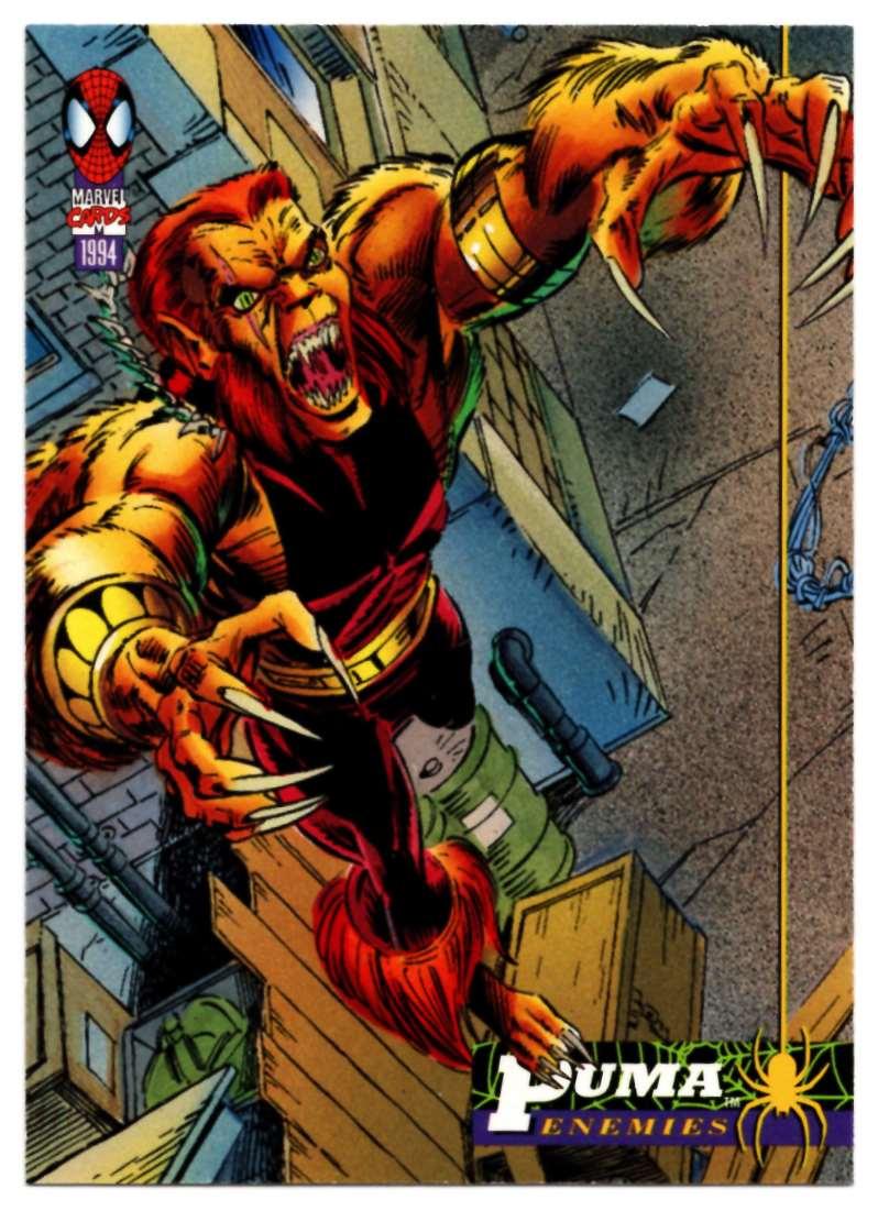 1994 Amazing Spider-Man Puma #31 card front image