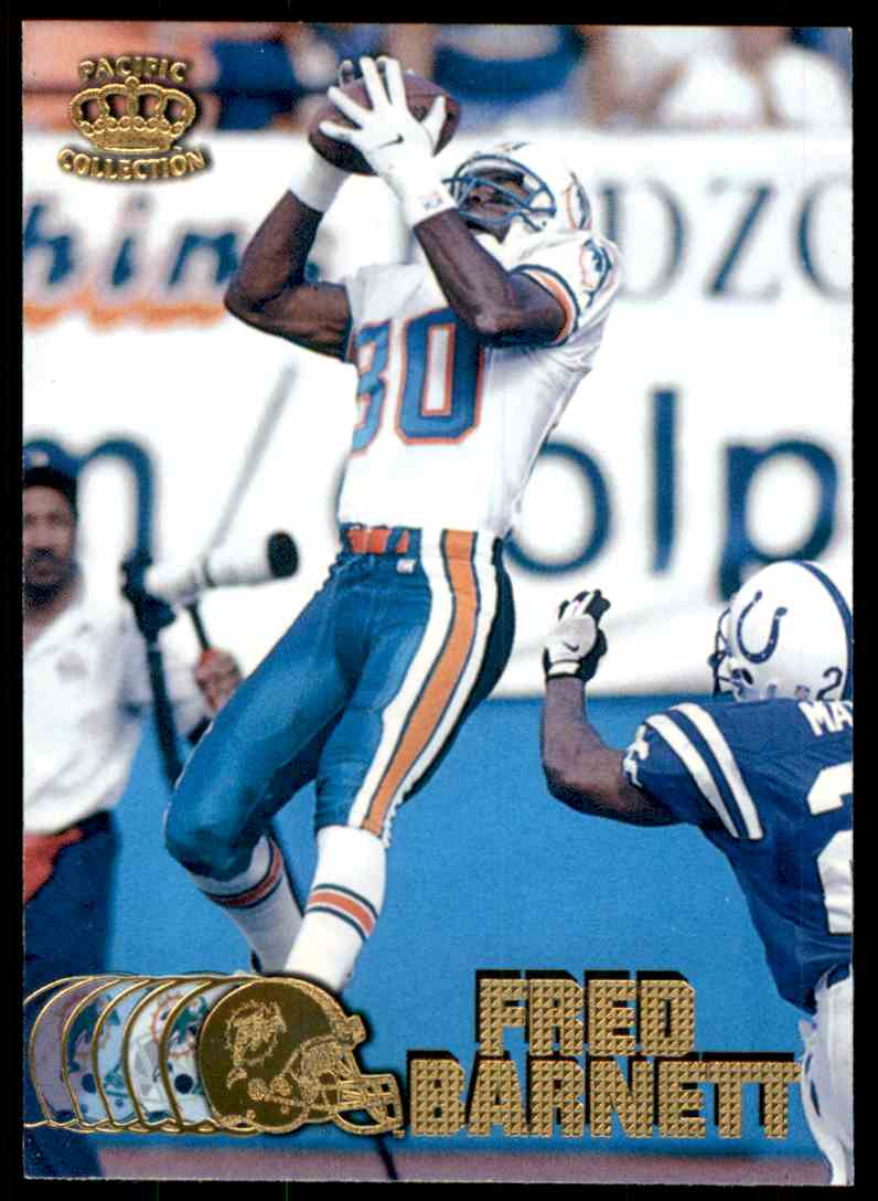 1997 Pacific Fred Barnett #212 card front image