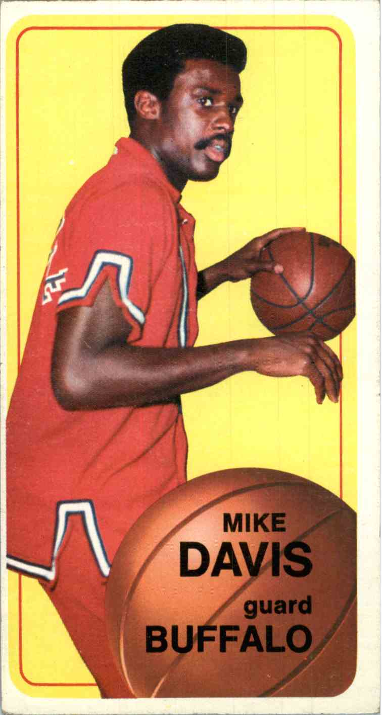 1970-71 Topps Tallboys Mike Davis #29 card front image
