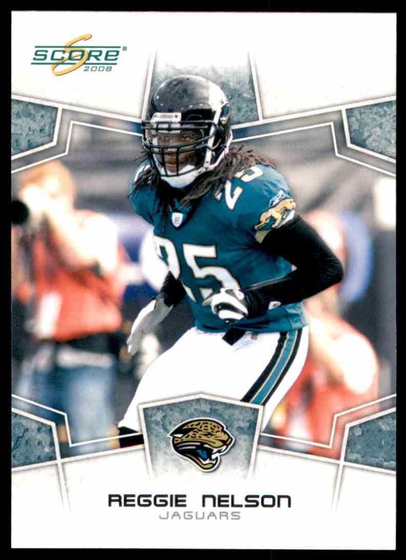 2008 Score Reggie Nelson #146 card front image