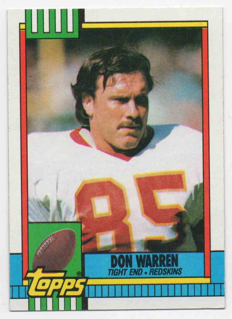 1990 Topps Don Warren #132 card front image