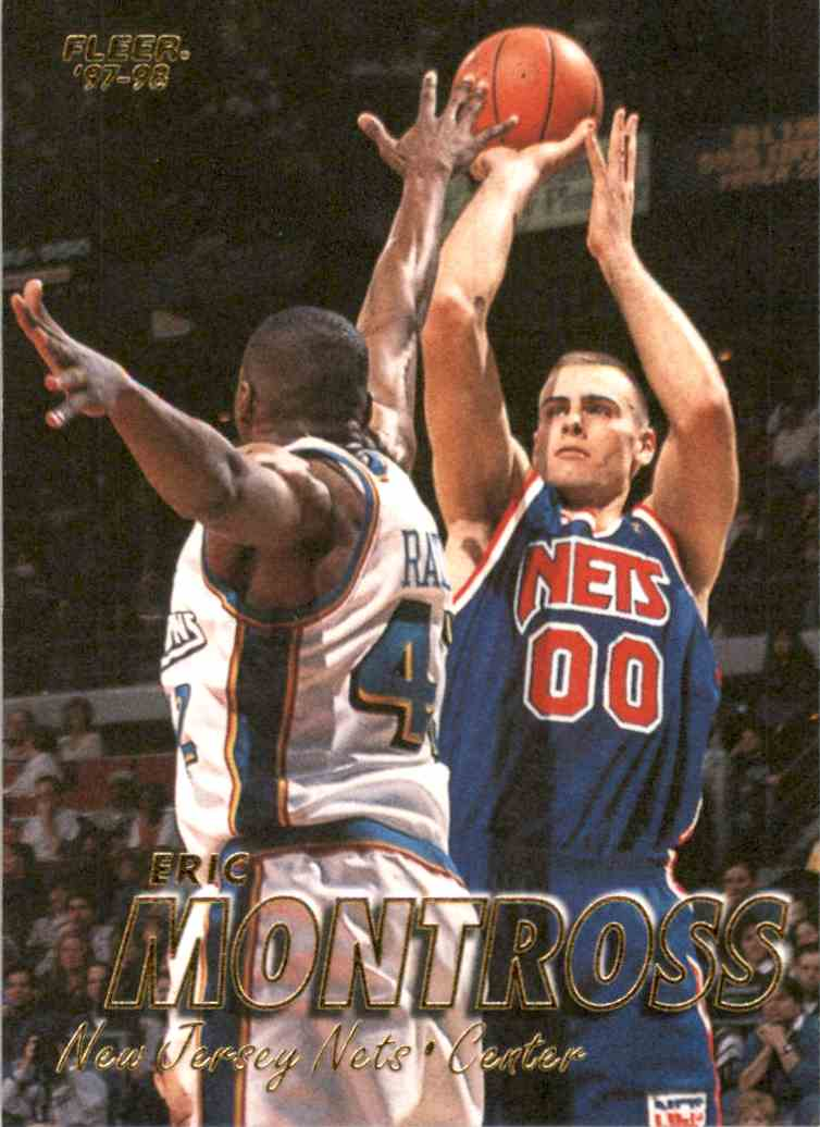 1997-98 Fleer Eric Montross #127 card front image