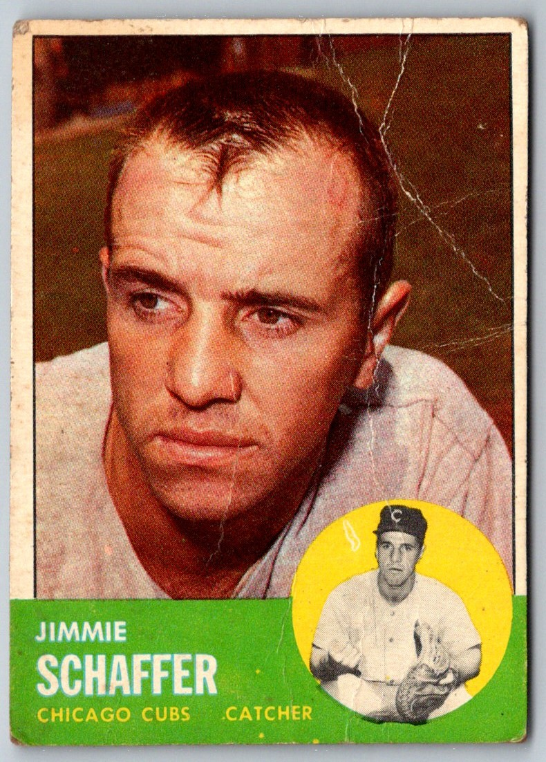 1963 Topps Jimmie Schaffer #81 card front image