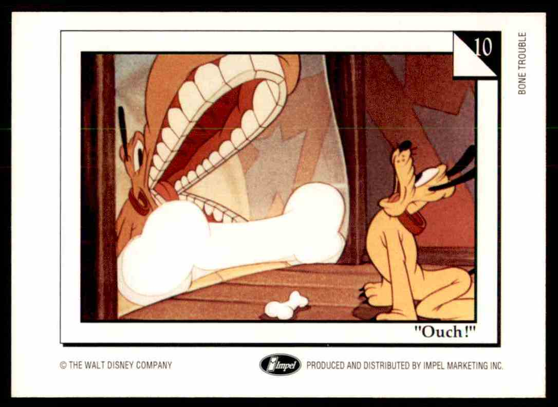 1991 Disney Series One A Place To Hide #10 card back image