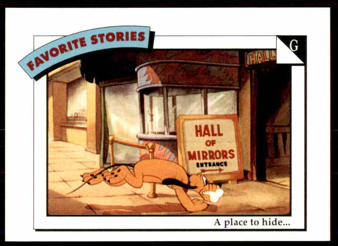 1991 Disney Series One A Place To Hide #10 card front image