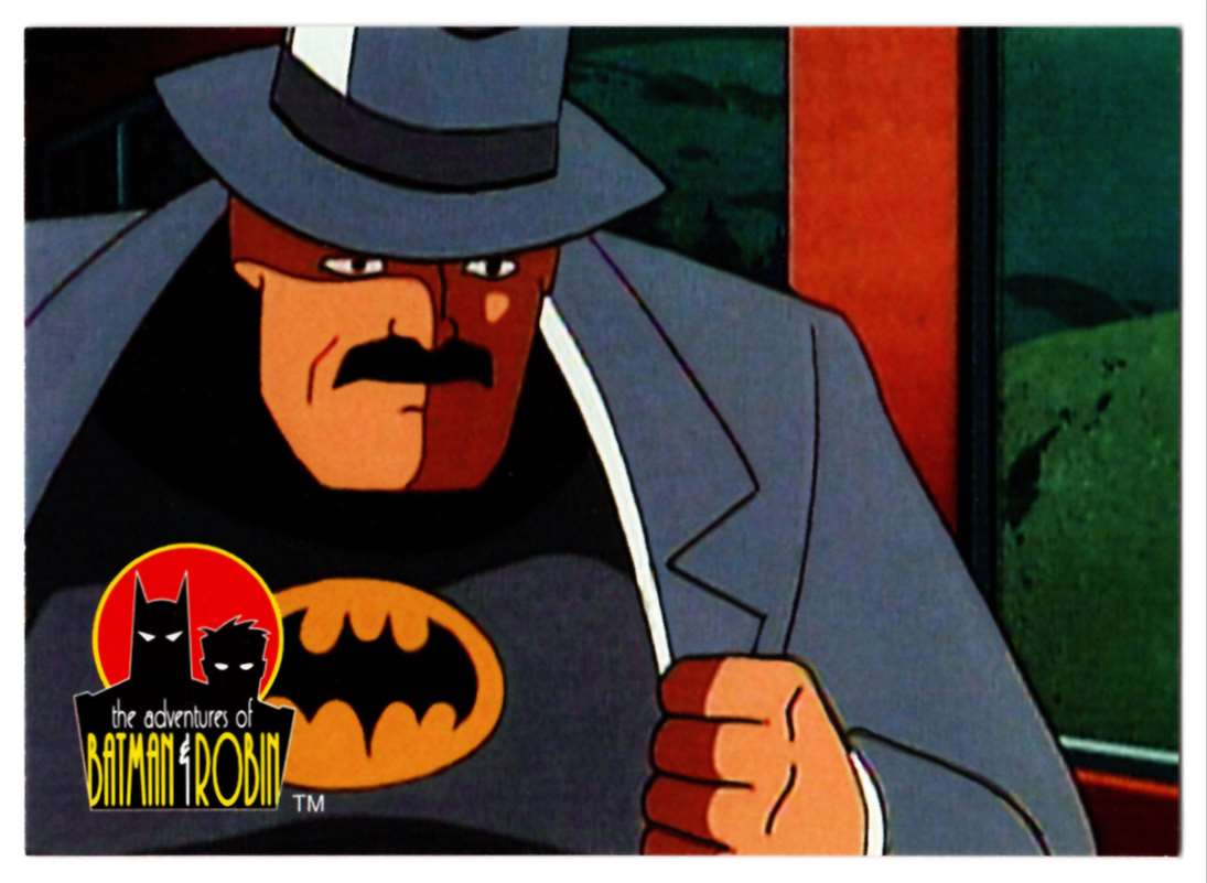 1995 Skybox Adventures Of Batman And Robin Master Of Disguise #9 card front image
