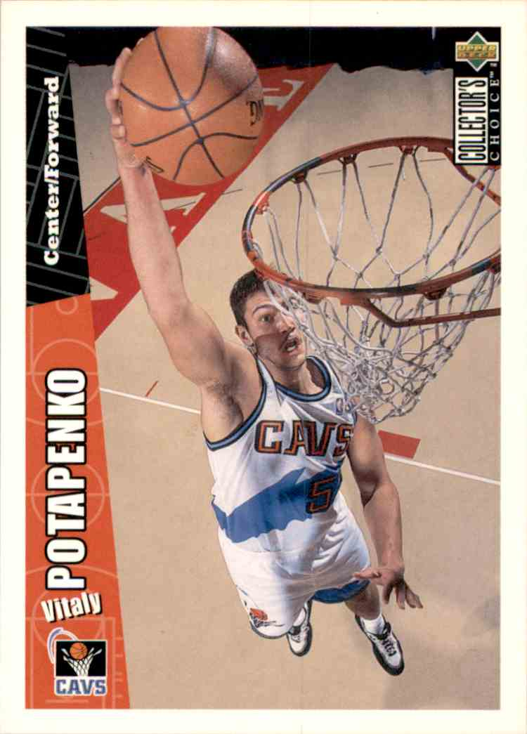 1996-97 Collector's Choice Vitaly Potapenko #226 card front image