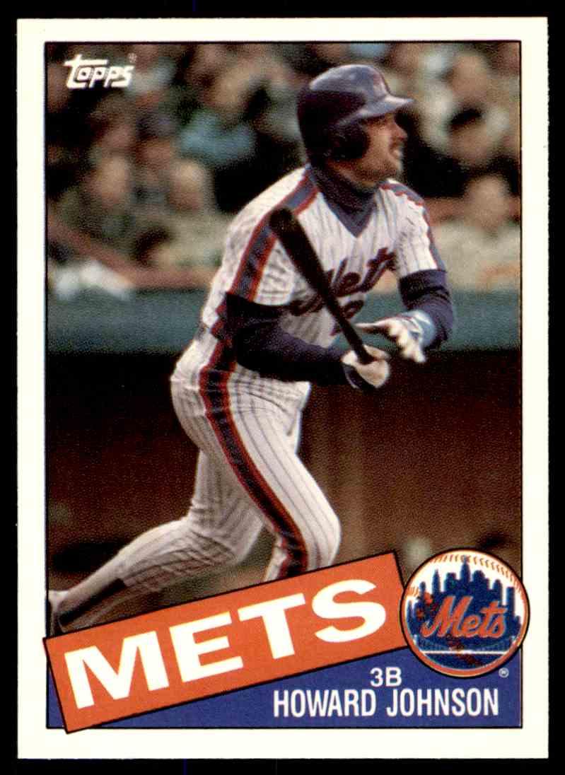 1985 Topps Traded Tiffany Howard Johnson #64T card front image