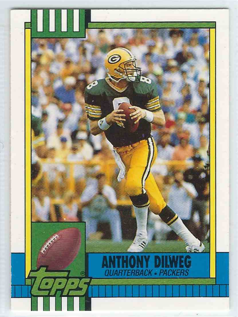 1990 Topps Traded Anthony Dilweg #69T card front image