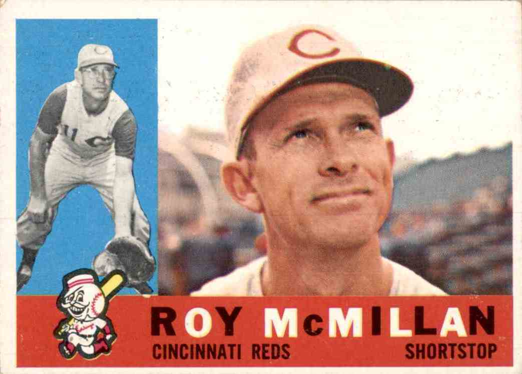 1960 Topps Roy McMillan #45 card front image