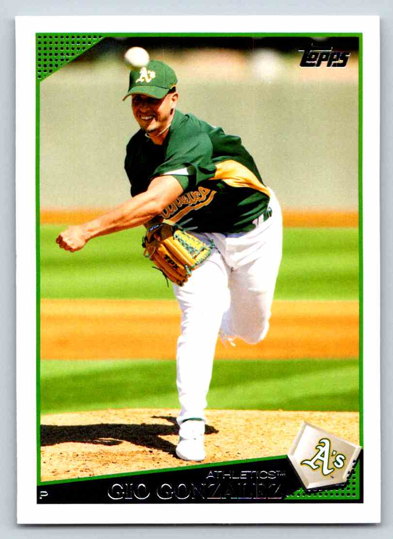 2009 Topps Gio Gonzalez #522 card front image