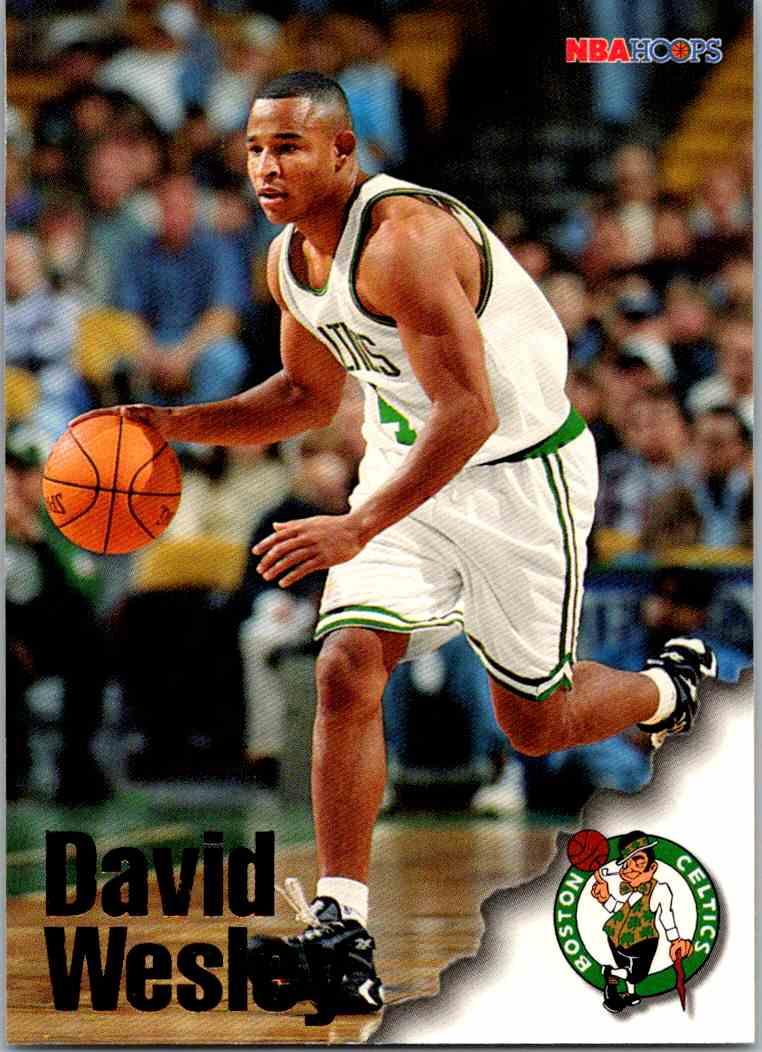 1997-98 NBA Hoops David Wesley #203 card front image