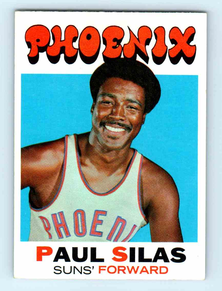 4 Paul Silas trading cards for sale