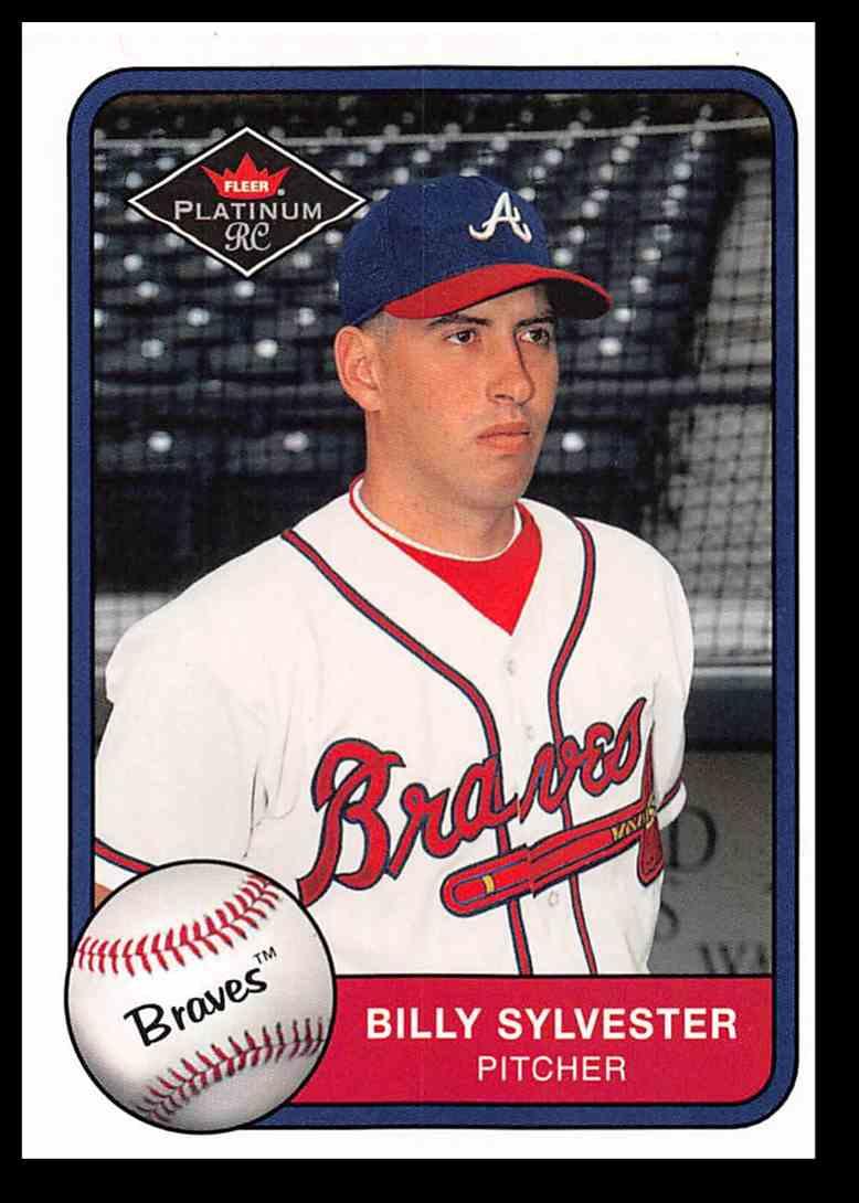 2001 Fleer Platinum Billy Sylvester #549 card front image