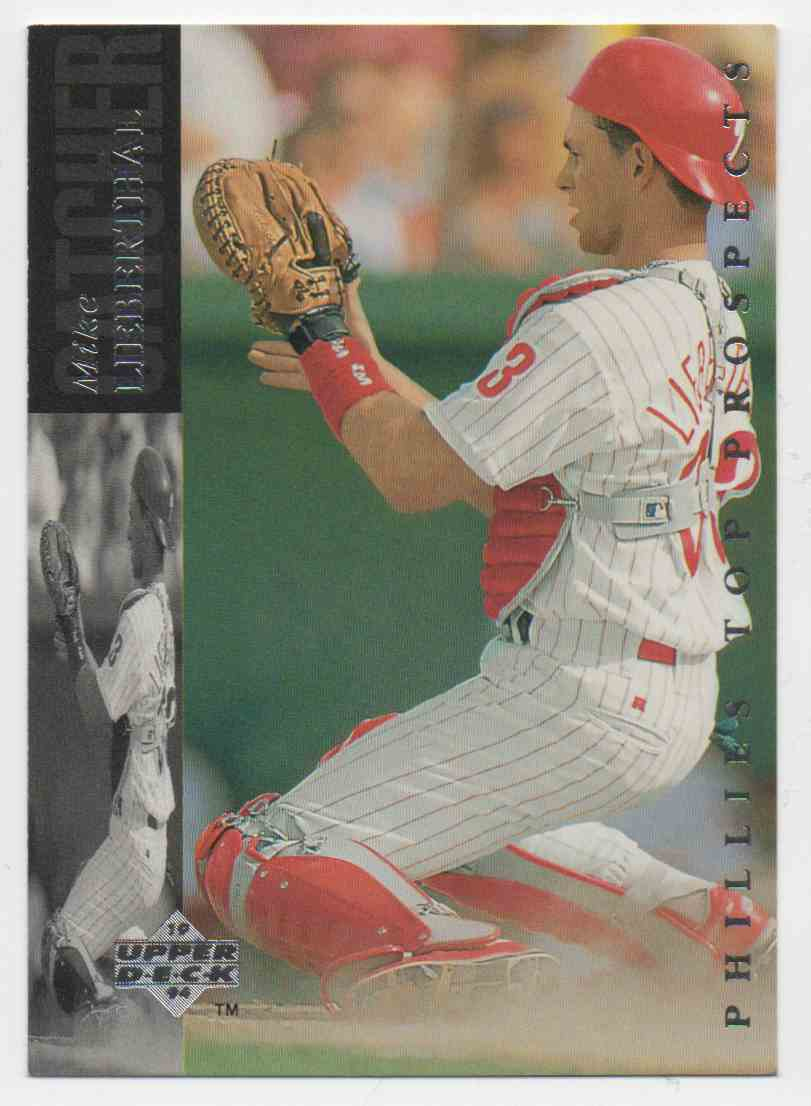 1994 Upper Deck Minors Mike Lieberthal #54 card front image