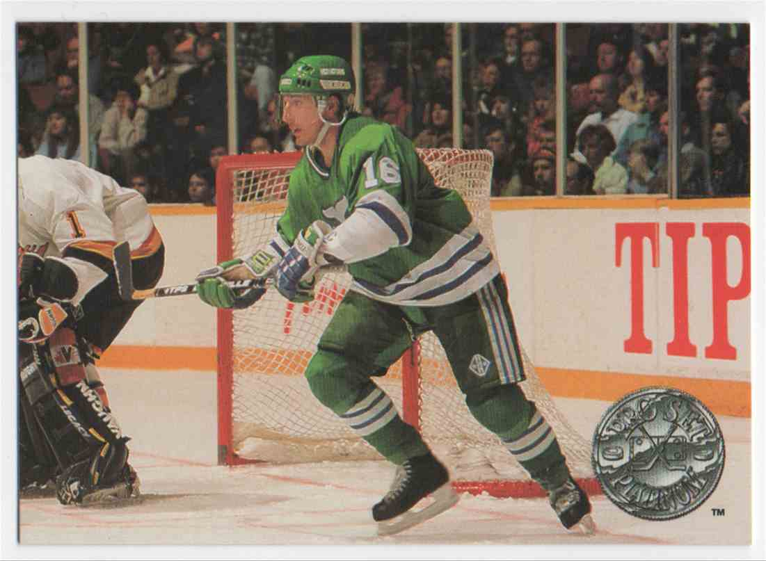 1991-92 Pro Set Platinum Pat Verbeek #44 card front image