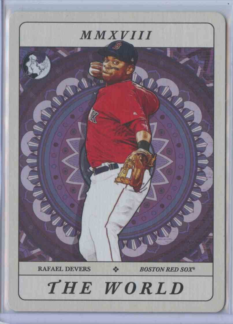 2018 Topps Gypsy Queen Tarot Lot Of 9 Cards Rafael Devers 2 On