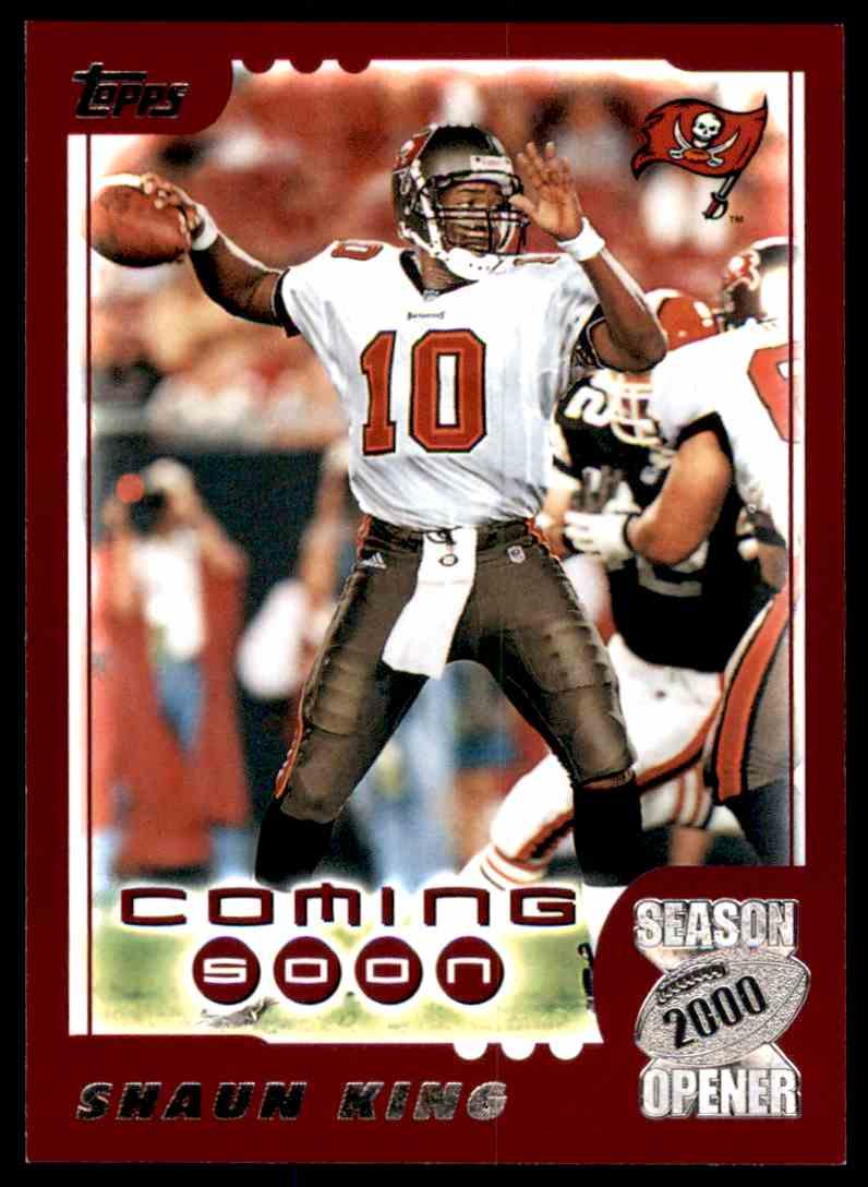2000 Topps Season Opener Shaun King Cs #197 card front image