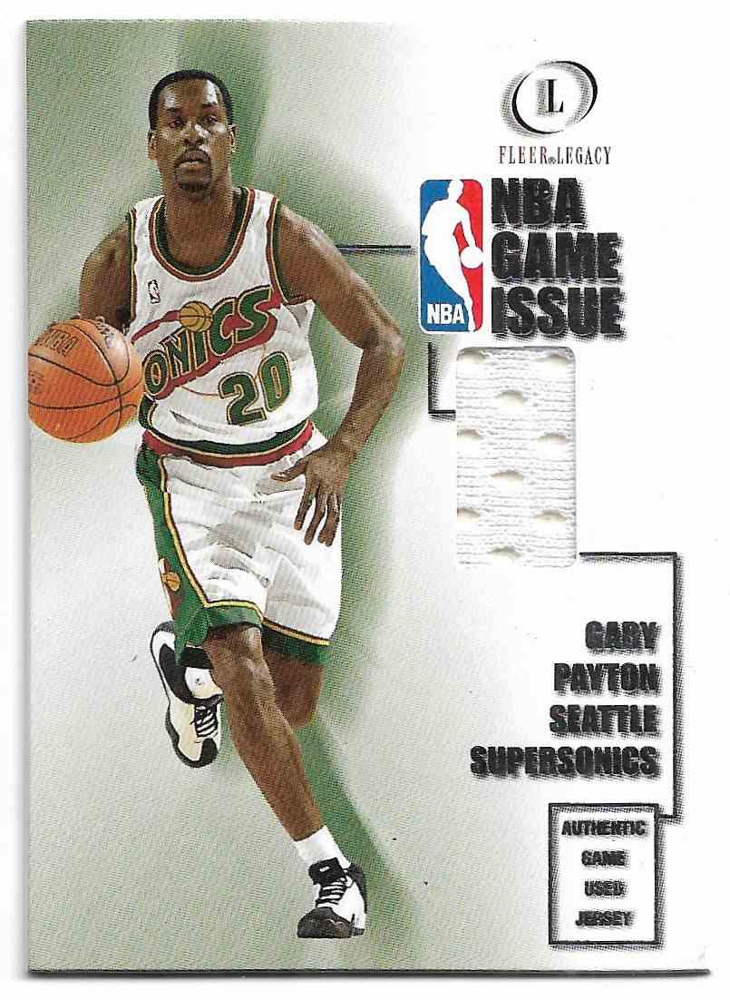 2000-01 Fleer Legacy Gary Payton #15 GI card front image